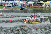 Amsterdam. NETHERLANDS. GBR W4X. Bow Kristina STLLER, Beth RODFORD, Victoria MEYER-LAKER and Lucinda GOODERHAM. Bosbaan Rowing Course. 2014 World Rowing Championships . 16:13:12  Thursday  DATE}  [Mandatory Credit; Peter Spurrier/Intersport-images]