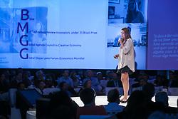 Lorena Scarpioni durante o VOX - The Joy of Sharing, evento que  pretende provocar reflexões sobre o futuro da comunicação a partir do compartilhamento de conteúdo e experiências. FOTO: Jefferson Bernardes/ Agência Preview