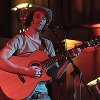 JP Cooper performing on stage at the closing event for the Thirty One Songs project which has raised over Thirty Thousands Pounds for CALM (Campaign Against Living Miserably). Manchester Town Hall, Albert Square, Manchester, United Kindom, 2013-03-03