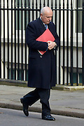 © Licensed to London News Pictures. 05/03/2013. Westminster, UK Work & Pensions Secretary.Iain Duncan Smith. Ministers arrive for a Cabinet Meeting at number 10 Downing Street on 5th March 2013. Photo credit : Stephen Simpson/LNP