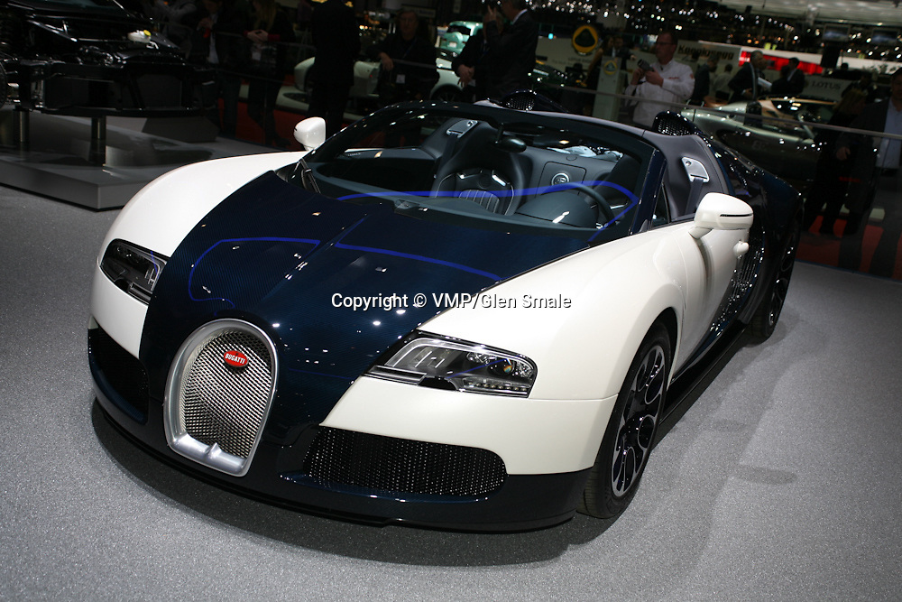 2010 Bugatti Veyron 16.4 Grand Sport, Geneva Motor Show