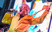 Mark Mothersbaugh of Devo In Times Square, NYC 10/12/14