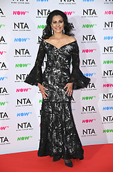 Wilnelia Merced in the press room after the National Television Awards 2018 held at the O2, London. Photo credit should read: Doug Peters/EMPICS Entertainment