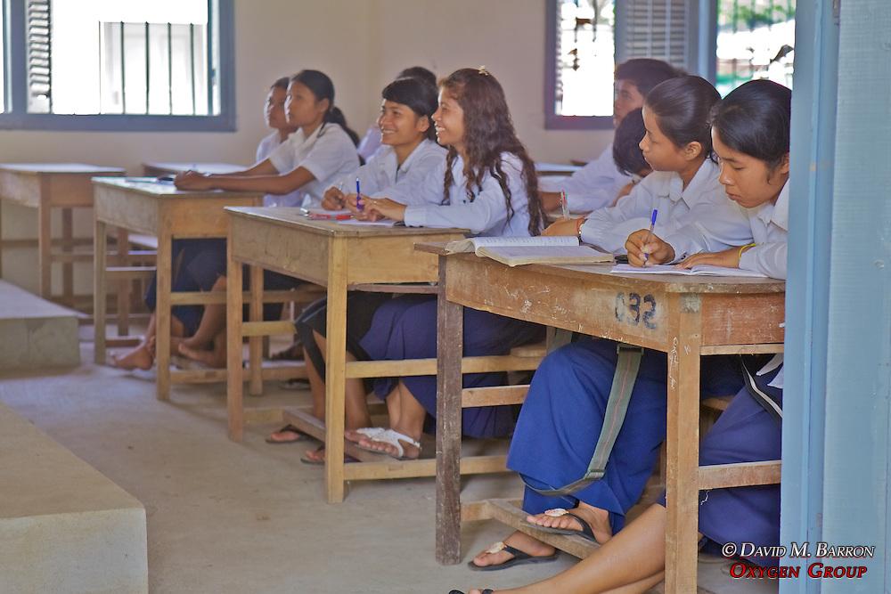 Students In Class, Lincoln-Sudbury Memorial School