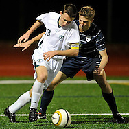 Two of Ohio's top boys varsity soccer teams battled on October 12, 2011 as Amherst Steele traveled to Cleveland St. Ignatius.