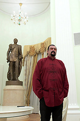 November 25, 2016 - Moscow, Russia - American actor Steven Seagal waits for Russian President Vladimir Putin during a visit to the Kremlin November 25, 2016 in Moscow, Russia. During the meeting Putin presented a Russian passport to Seagal making him a Russian citizen. (Credit Image: © Alexei Druzhinin/Planet Pix via ZUMA Wire)