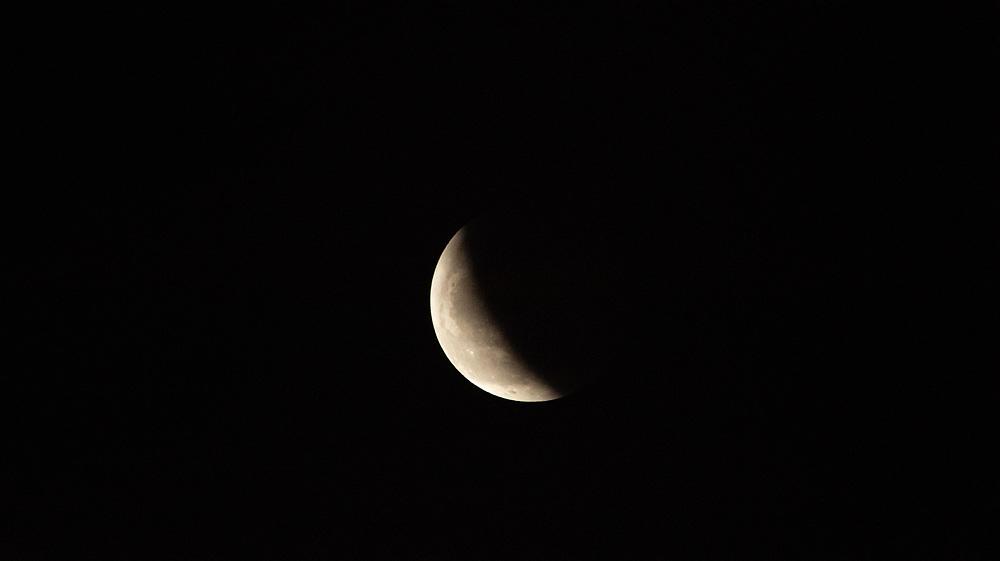 Super Blood Wolf Moon (Total Lunar Eclipse), Seattle, Washington, US