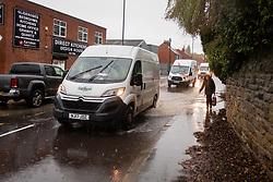 Flooding Church Street Ecclesfield,<br /> <br />  Copyright Paul David Drabble<br />  07 November 2019<br />  www.pauldaviddrabble.co.uk