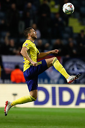 November 20, 2018 - Stockholm, Sweden - Marcus Berg of Sweden in action during the UEFA Nations League B Group 2 match between Sweden and Russia on November 20, 2018 at Friends Arena in Stockholm, Sweden. (Credit Image: © Mike Kireev/NurPhoto via ZUMA Press)