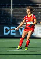 AMSTELVEEN - Georgina Oliva (Spa)  tijdens dames hockeywedstrijd , Spanje-Nederland  (1-7),  bij het EK hockey. Euro Hockey 2021.   COPYRIGHT KOEN SUYK