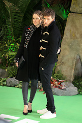 at the Early Man World Premiere at BFI IMAX in London. 14 Jan 2018 Pictured: Hannah Bagshawe and Eddie Redmayne. Photo credit: MEGA TheMegaAgency.com +1 888 505 6342