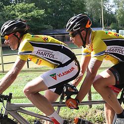 18-06-2017: Wielrennen: NK Paracycling: Montferlands-Heerenberg (NED) wielrennen  <br />Daniel Knegt (Hazerswoude Dorp)-Shane ter Hennepe