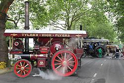 Steam engine display at Nottingham Riverside festival.