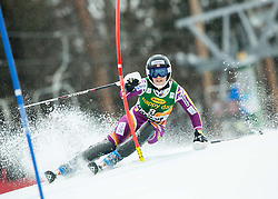 LOESETH Nina (NOR) competes during the 1st Run of 7th Ladies' Slalom at 51st Golden Fox of Audi FIS Ski World Cup 2014/15, on February 22, 2015 in Pohorje, Maribor, Slovenia. Photo by Vid Ponikvar / Sportida