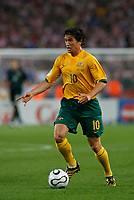 Photo: Glyn Thomas.<br />Croatia v Australia. Group F, FIFA World Cup 2006. 22/06/2006.<br /> Australia's Harry Kewell.