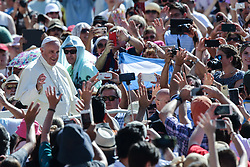 June 21, 2017 - Vatican City State (Holy See) - POPE FRANCIS during his Wednesday General Audience in St. Peter's Square at the Vatican.  (Credit Image: © Evandro Inetti via ZUMA Wire)