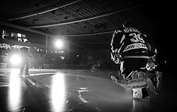 25.09.2011, Eisstadion Liebenau, Graz, AUT, EBEL, Graz 99ers vs HC Orli Znojmo, im Bild Artiom Konovalov, (99ers, #39) // during the ice hockey game between Graz 99ers and HC Orli Znojmo at the Eisstadion Liebenau, Graz, Austria, 2011/09/25, EXPA Pictures © 2011, PhotoCredit: EXPA/ S. Zangrando