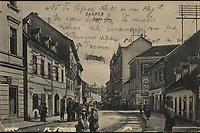 Zagreb : Doljna Ilica. <br /> <br /> ImpresumLeipzig : Dr. Trenkler Co., 1907.<br /> Materijalni opis1 razglednica : tisak ; 8,8 x 13,5 cm.<br /> NakladnikDr. Trenkler Co.<br /> Mjesto izdavanjaLeipzig<br /> Vrstavizualna građa • razglednice<br /> ZbirkaZbirka razglednica • Grafička zbirka NSK<br /> Formatimage/jpeg<br /> PredmetZagreb –– Ilica<br /> Obuhvat(vremenski)20. stoljeće<br /> NapomenaPutovala je 1908. godine.<br /> PravaJavno dobro<br /> Identifikatori000946526<br /> NBN.HRNBN: urn:nbn:hr:238:683196 <br /> <br /> Izvor: Digitalne zbirke Nacionalne i sveučilišne knjižnice u Zagrebu