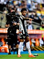 RIO DE JANEIRO, BRAZIL - JANUARY 30: Marinhoof Santos reacts ,during the final of Copa CONMEBOL Libertadores 2020 between SE Palmeiras and Santos FC at Maracana Stadium on January 30, 2021 in Rio de Janeiro, Brazil. (Photo by MB Media/BPA)