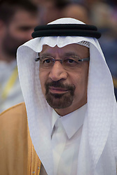 Khalid Al-Falih, Saudi Energy during 10th OPEC and non-OPEC Joint Ministerial Monitoring Committee (JMMC) in Algiers, Algeria on September 23, 2018. Photo by Louiza Ammi/ABACAPRESS.COM