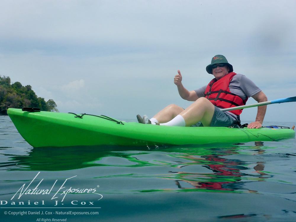 Ray Kayaking. Costa Rica.