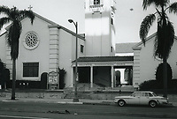 1972 Hollywood Congregational Church on Hollywood Blvd.