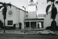 1972 Hollywood Congregational Church on Hollywood Blvd.