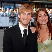 NLD/Amsterdam/20070522 - Premiere Pirates Of The Caribbean 3, Tim Akkerman en partner Stephanie van den Eijnden