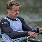 James Cracknell<br /> <br /> Crews prepare for Sunday's 165th Boat Race between Oxford and Cambridge, River Thames, London, Thursday 4th April 2019. © Copyright photo Steve McArthur / www.photosport.nz