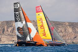 Practice Race one day before the start of the in-port race in Alicante, 3-10-1014, Alicante  - Spain.