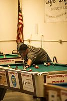 Robbie Mills memorial 8-Ball Tournament at the Rod and Gun in Laconia.    ©2019 Karen Bobotas Photographer