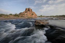 Llano River near Kingsland, Texas.