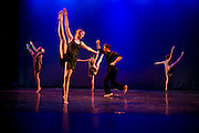 Dance Wisconsin dancers rehearse The Lonely at Madison College in Madison, Wisconsin on October 11, 2012.