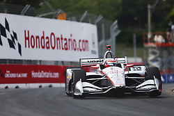 July 14, 2018 - Toronto, Ontario, Canada - WILL POWER (12) of Australia takes to the track to practice for the Honda Indy Toronto at Streets of Toronto in Toronto, Ontario. (Credit Image: © Justin R. Noe Asp Inc/ASP via ZUMA Wire)