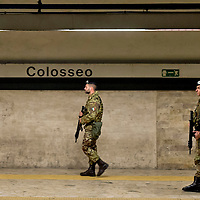 Terrorism and the Jubilee, Colosseum special surveillance