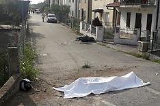 20210904 INCIDENTE MORTALE MOTO BICI ARIANO FERRARESE