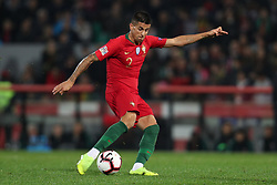 November 20, 2018 - Guimaraes, Guimaraes, Portugal - Joao Cancelo defender of Portugal in action during the UEFA Nations League football match between Portugal and Poland at the Dao Afonso Henriques stadium in Guimaraes on November 20, 2018. (Credit Image: © Dpi/NurPhoto via ZUMA Press)