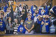 North Myrtle Beach Chiefs students cheer during the first half the state championship game against the AC Flora Falcons at Benedict College.