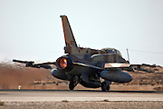 IAF F-16I Fighter jet on the ground