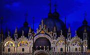 Saint Mark's Basilica at Dawn, Venice, Italy.