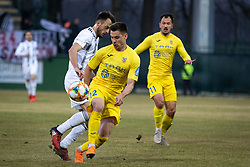 during football match between NŠ Mura and NK Domžale in 21st Round of Prva liga Telekom Slovenije 2018/19, on March 02, 2019 in Fazanerija, Murska Sobota, Slovenia. Photo by Blaž Weindorfer / Sportida