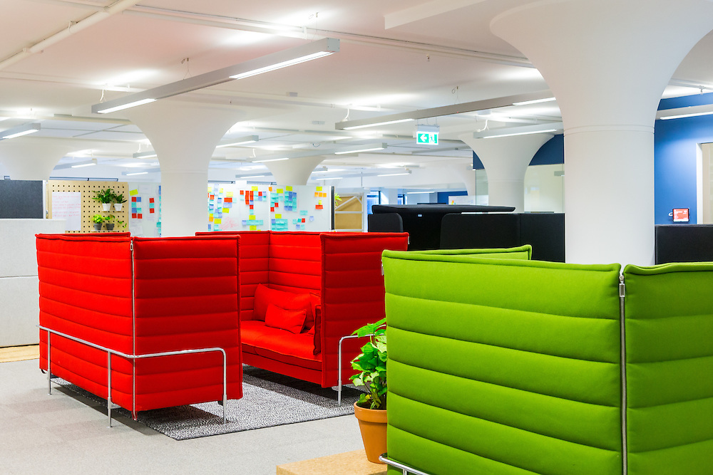 temporary atlassian offices, clarence street, sydney by HASSELL