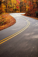Western North Carolina is laced with remote and beautiful roads.  This is a section of Old Fort Road, south of Asheville.