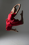 Photograph of Andanza's Ballet Academy student. (2012)