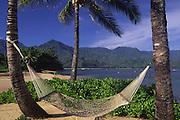 Hammock, Princeville, Hanalei, Kauai, Hawaii<br />