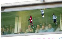 Photo: Scott Heavey/Sportsbeat<br />Tottenham Hotspur v Liverpool. 16/03/03.<br />Spectators watch a very droll first half during this premiership clash at White Hart Lane.