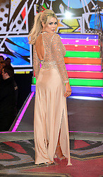 Nicola McLean enters the Celebrity Big Brother house at Elstree Studios in Borehamwood, Herfordshire, during the latest series of the Channel 5 reality TV programme.