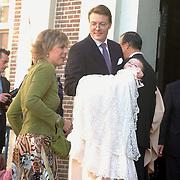 Doop Claus-Casimir Apeldoorn, Prins Constatijn met zoon Claus - Casimir, prinses Laurentien