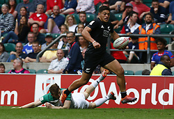 May 26, 2019 - Twickenham, England, United Kingdom - Tone Ng Shiu of New Zealand .during The HSBC World Rugby Sevens Series 2019 London 7s 5th Place Play-Off Match 43 between New Zealand and Ireland at Twickenham on 26 May 2019. (Credit Image: © Action Foto Sport/NurPhoto via ZUMA Press)