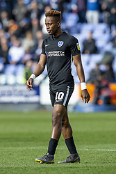 March 23, 2019 - Meadow, Shropshire, United Kingdom - Jamal Lowe of Portsmouth FC during the Sky Bet League 1 match between Shrewsbury Town and Portsmouth at Greenhous Meadow, Shrewsbury on Saturday 23rd March 2019. (Credit Image: © Mi News/NurPhoto via ZUMA Press)